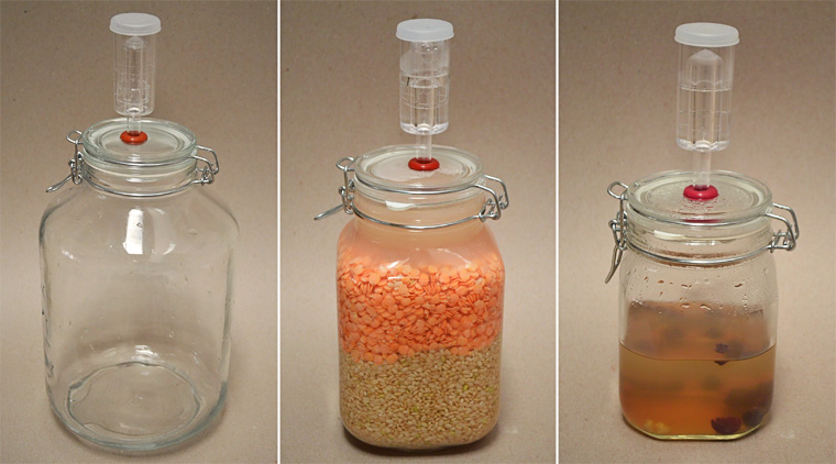 Glass Airlock Container